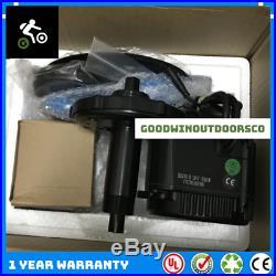 1000W Complete Electric E Bike Conversion Kit Bafang Mid Drive Motor 48V 13AH