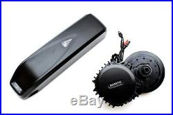 120mm BBSHD 48V 1000W Mid Drive Motor E-bike Conversion Kit with 14Ah Battery