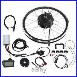 24 24V 250W E-Bike Conversion Kit Elektrofahrrad Umbausatz Hinterrad/Vorderrad