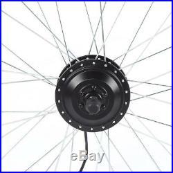 26'' Elektrofahrrad Umbausatz 48V 250W E-Bike Conversion Kit KT-LCD4 Instrument