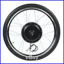 28N. M Torque Electric Bike 48V 1000W Hub Motor Conversion Kit Drive Wheel 26