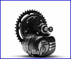 36V 350W Central Mid Drive Motor Conversion E-bike Kit with Coaster Brake Moped