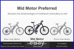 36V/48V Bafang Electric Bike Mid Drive Motor BBS01B/02B 750W Conversion Kits DIY