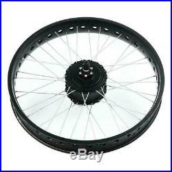 36/48V Electric Bike 20/26 Front Rear Wheel Engine Motor E-bike Conversion Kit