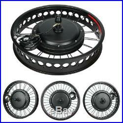 48V 1000W 20 Hinterrad E-Bike Conversion Kit Elektrofahrrad Motor Umbausatz LCD