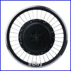 48V 1000W 20 inch Instrument Wheel Ebike Conversion Kit for rear drive cassette