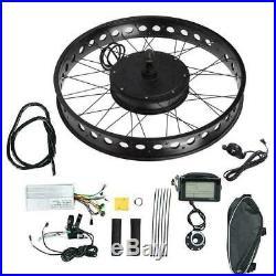 48V 1000W Electric Bike DIY Hub Motor Conversion Kit Wheel E-bike Modified Refit