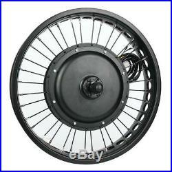 48V 1500W E-Bike Conversion Kit Elektrofahrrad Motor Umbausatz Set