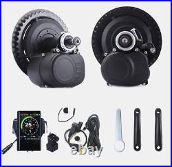 48V 500W Tongsheng Mid Drive Motor Kit TSDZ2 P850C coulor display UK stock