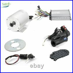 48V 60V 1000W Electric Motor for Bike Scooter Mid Drive BLdc Conversion Kit