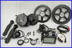 48V 750W Mid drive complete e-bike kit 68mm BB 30mph 48v 13ah Battery