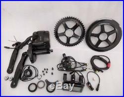 48V 750W Mid drive electric bike kit 68mm BB 30mph e bike conversion kit