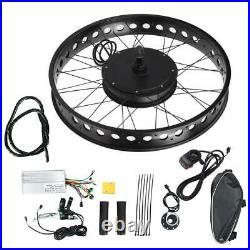 Aluminium Alloy 48V 1500W Electric Bicycle Conversion Hub Motor Wheel Refit Kit