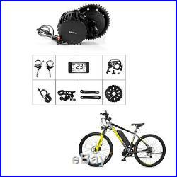BAFANG 48V 1000W 68-120mm BBSHD Mid Drive Motor Electric Bike DIY Conversion Kit