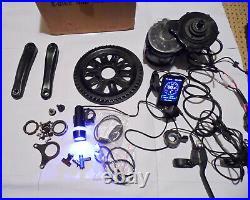 BAFANG 48V 750W BBS02B Mid Drive Motor Conversion Kit DIY Electric Bike + EXTRAS