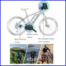 BAFANG 52V 1000W Mid Drive Motor Conversion Kits Electirc Bike Bicycle DIY Parts