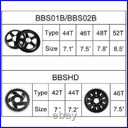 BAFANG 8Fun 48V500W Mid Drive Geared Motor Engine eBike Electric Conversion Kit
