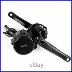 BAFANG 8Fun 48V 350W BBS01 Mid Drive Motor Kit ebike Crank Chainwheel Component