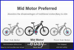 BAFANG 8Fun BBS01B 36V 250W Mid-drive Motor Conversion kits DIY Electric Bike