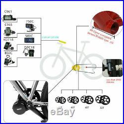 BAFANG BBS01B 36V 250W Mid Drive Crank Motor Electric Bicycles Conversion Kits
