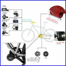 BAFANG BBS03 BBSHD 52V1000W eBike Mid Drive Motor With 48V17.5Ah 52V14Ah Battery