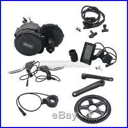 BAFANG BBSHD03 48V 1KW Mid Drive Motor Conversion Kit C965 100mm Electric Bike