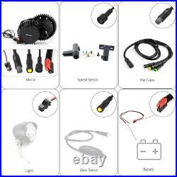 BAFANG BBSHD 48V/52V 1000W Mid Drive Motor Conversion Kits E-bike 17.5Ah Battery