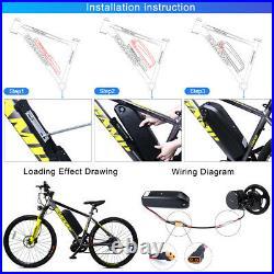 BAFANG BBSHD 52V1000W Middle Drive Motor Conversion Kit for Electric Bike 68mm