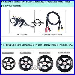 BAFANG Ebike 48V 750W Gear Drive Motor Conversion Kits 48V12Ah /17.5Ah Battery