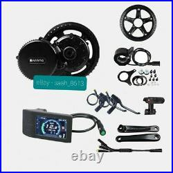 Bafang 48V 750W BBS02B Mid Drive Motor Conversion Kit Ebike 44T UK Stock 500C