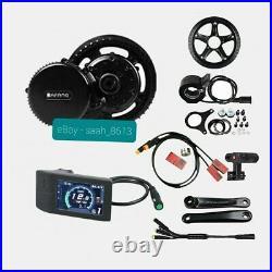 Bafang 48V 750W BBS02B Mid Drive Motor Conversion Kit Ebike 500C UK Stock