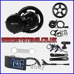 Bafang 48V 750W BBS02B Mid Drive Motor Conversion Kit Ebike UK Stock 500C