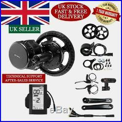 Bafang 48V 750W BBS02 100mm Mid Drive Motor Conversion Kits Ebike 46T UK Stock
