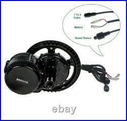 Bafang 48V 750W BBS02 Mid Drive Conversion Kits Ebike 44T UK Stock850c display