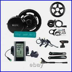 Bafang 48v 52v 750W BBS02B Mid Drive Motor Conversion Kit Ebike 44T UK Stock
