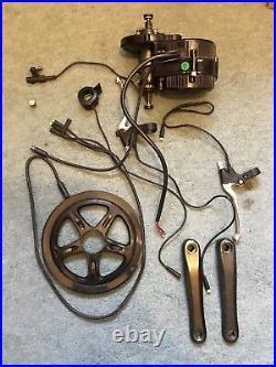 Bafang/8Fun BBS02 750w 48v mid drive electric bike kit used and working