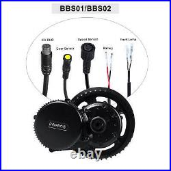 Bafang 8fun BBS02B 36V 500W Mid Drive Motor Conversion Kit DIY ebike EU Free Tax