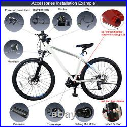 Bafang BBS01B 36V 250W Mid Drive Motor Electric Bike Conversion Kit With Battery