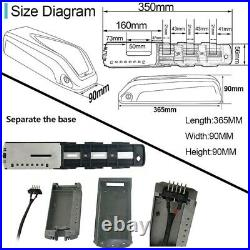 Bafang BBS01B 36V 350W Mid Drive Motor kit with Samsung cell 17.5Ah Battery