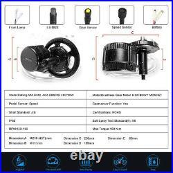Bafang BBS02B 48V 750W Mid Drive Motor 8F BBS02 Electric Bicycle Conversion Kit