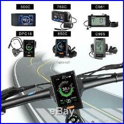 Bafang BBS02 48V 750W 100mm Fat tyre Mid-Drive Motor Conversion Kits 46T C965