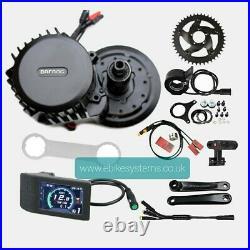 Bafang BBSHD 1000W-1700W Mid-Drive Motor E-Bike Conversion Kits 42T 120mm