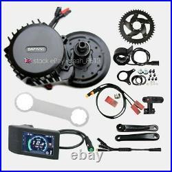 Bafang BBSHD 1000W-1700W Mid-Drive Motor E-Bike Conversion Kits 42T 68-72mm