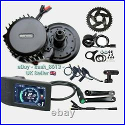 Bafang BBSHD 1000W-1700W Mid-Drive Motor E-Bike Conversion Kits 42T 68-72mm 500C