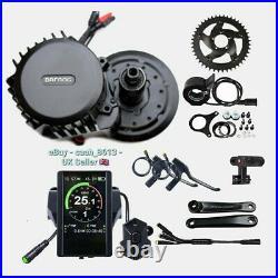 Bafang BBSHD 1000W-1700W Mid-Drive Motor E-Bike Conversion Kits 42T 68-72mm 850C