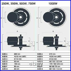 Bafang BBSHD 1000W-1700W Mid-Drive Motor E-Bike Conversion Kits 500C 68-72mm