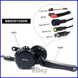 Bafang BBSHD 48V 52V 1000W Mid Crank Drive Motor 68mm DIY Ebike Conversion kits