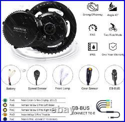 Bafang Bbs01B 36V 350W Mid Drive Kit Electric Bike Conversion Kit Mid Motor Kit