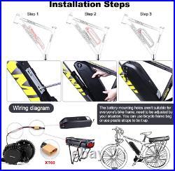 Bafang Bbs02B 48V 750W Mid Drive Electric Bike Motor Ebike Conversion Kit Mid Mo