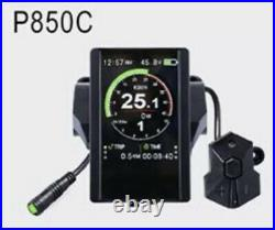Bafang Mid Drive BBS02 48v 750w Mid drive ebike kit With P850c display
